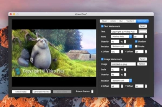 video plus macos mac 1 331x219 - Video Plus Mac - Edition, Effets et Marquage Vidéo (gratuit)