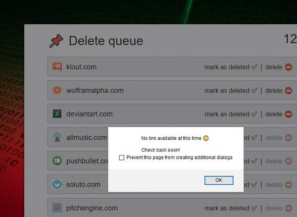 effacer traces sur internet