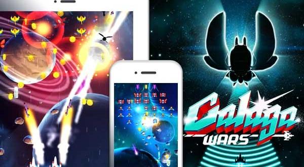 Jeu Galaga Wars iPhone iPad : Le Must des Shoot 'em UP (gratuit)