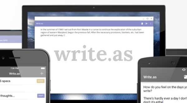 Write.as, la Plateforme de Blog Privée et Anonyme (gratuit)