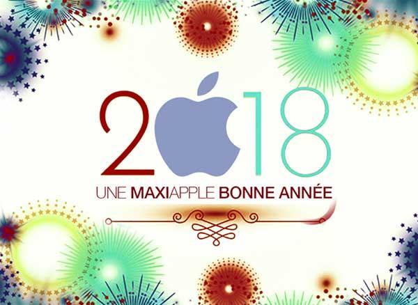MaxiApple Bonne Annee 2018