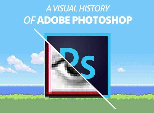 retrospective evolution photoshop mac 30 ans 1 - Evolution du Logiciel Photoshop Mac de 1987 à 2016 (video)