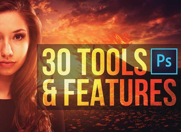 tutoriel photoshop cc outils fonctions demo 1 - 30 Outils et Fonctions Pros Photoshop CC à Découvrir (video)