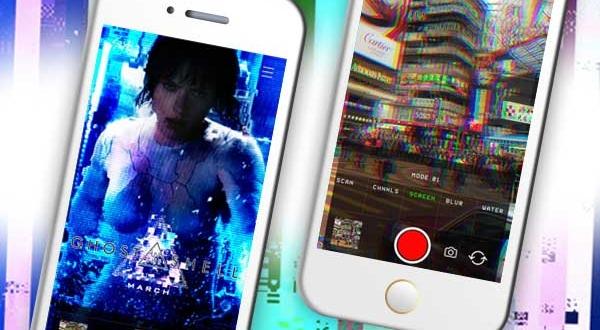 Glitch Cam iPhone iPad : Effets Video et 3D en Temps Réel (gratuit)