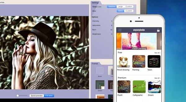 SuperPhoto Mac iPhone : 208 Filtres et Effets Photos Artistiques (gratuit)