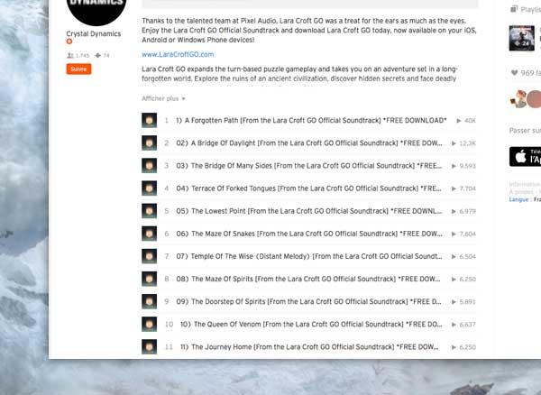 lara croft go ost bo mp3 gratuit 2 - Album Complet du Jeu Lara Croft GO à Télécharger en MP3 (gratuit)