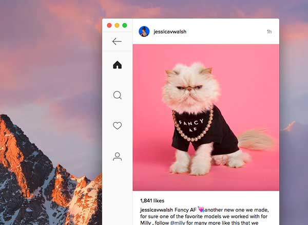 ramme instagram client macos mac gratuit 2 - Ramme Mac : Client Instagram Non Officiel mais Pratique (gratuit)