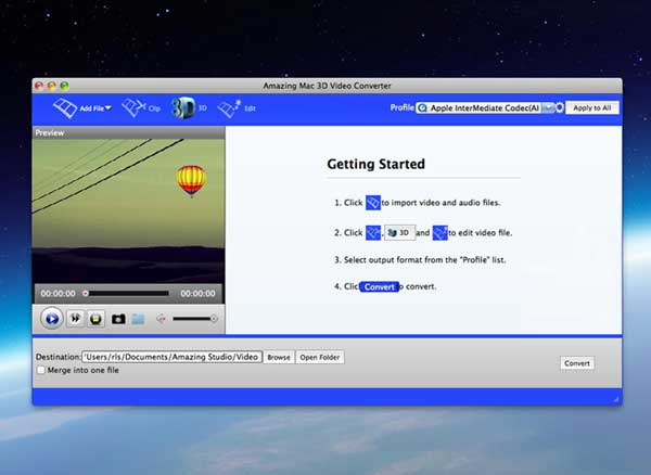 3D Video Converter Pro Mac
