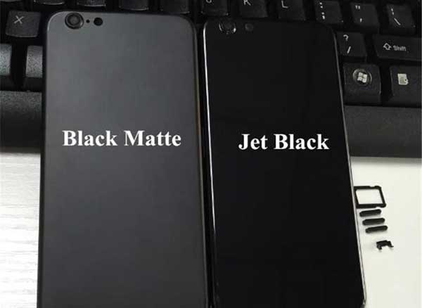 iphone 5s 6s chassis noir jais