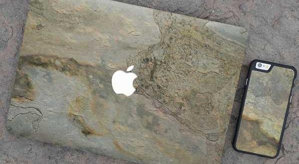 Protection en Pierre pour MacBook Pro et iPhone 7 (images)