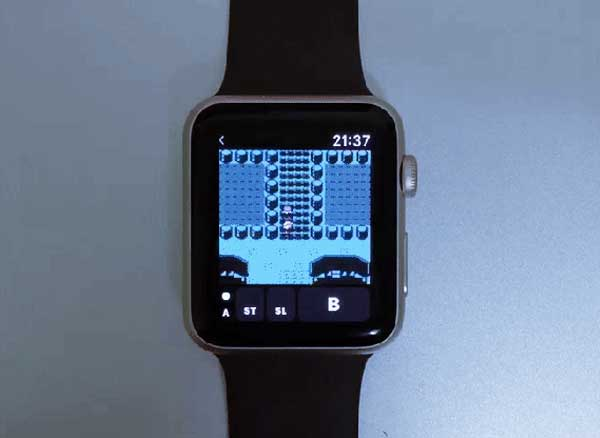 montre apple watch emulateur gameboy colors 1 - Il Installe sur Apple Watch l'Emulateur Gameboy Color (images)