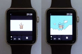 Emulateur Gameboy Color Apple Watch