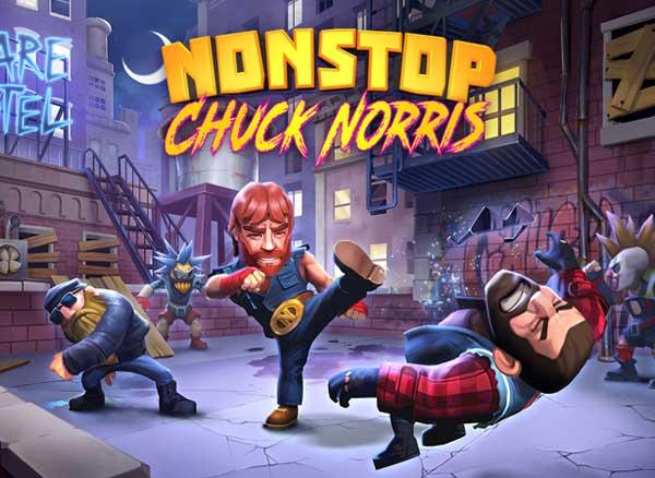 nonstop chuck norris jeu iphone ipad