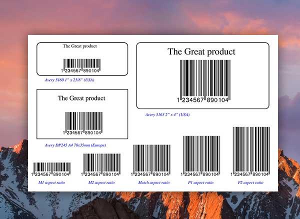 Barcode Wizard Mac