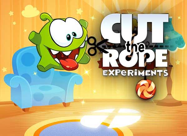 Jeu Cut the Rope 2 iPhone iPad