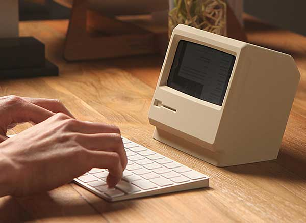 Dock Macintosh iPhone Elago