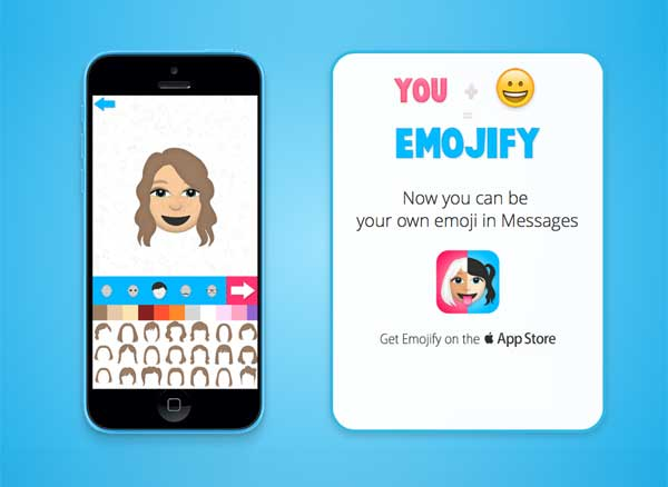 emojify iphone imessage emoji 1 - Emojify iPhone : Générateur d'Emojis pour Créer vos Emoticones (gratuit)
