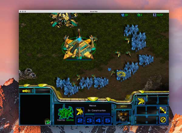 Jeu Video StarCraft Mac