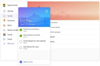 Microsoft To-Do iPhone iPad