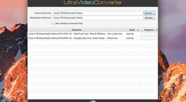 UltraVideoConverter Mac macOS