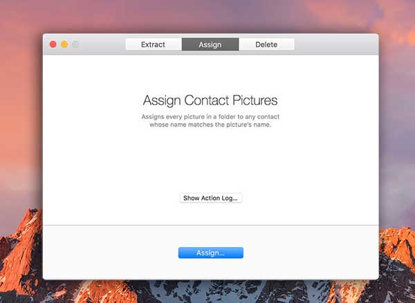 Backup Contact Pictures Mac