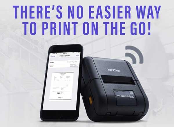 Imprimantes Brother AIrPrint iPhone iPad