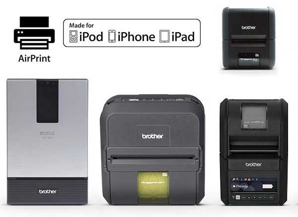 Imprimantes Brother AIrPrint iPhone iPad