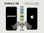 Galaxy S8 vs iPhone 6s Comparatif