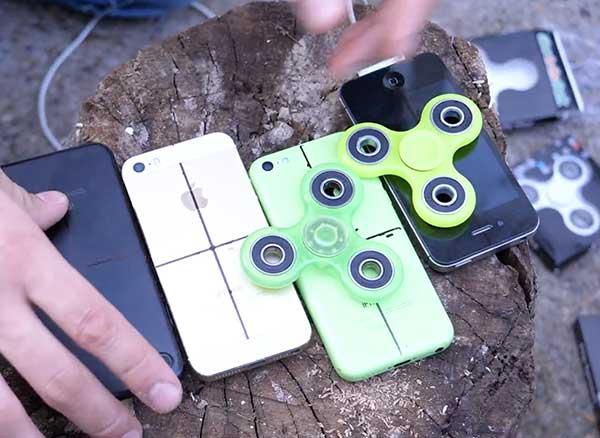 Hand Spinner iPhone Tutoriel