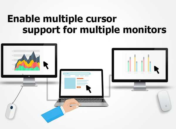 Multiscreen Multimouse Mac