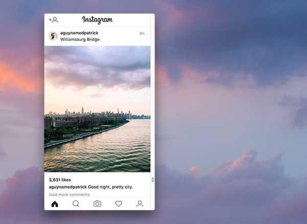 poster macos mac client instagram 1 - Poster Mac : Client Instagram pour Publier vos Photos (gratuit)