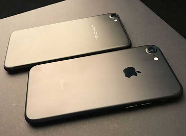 Umidigi G Contrefacon Clone iPhone 7