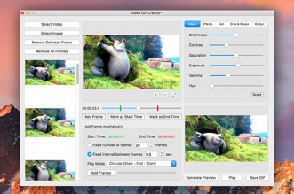 Video GIF Creator Mac