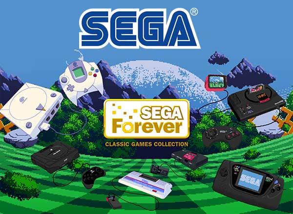 Jeux Sega Forever iPhone iPad