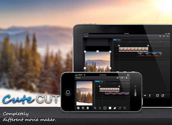 Cute CUT iPhone iPad