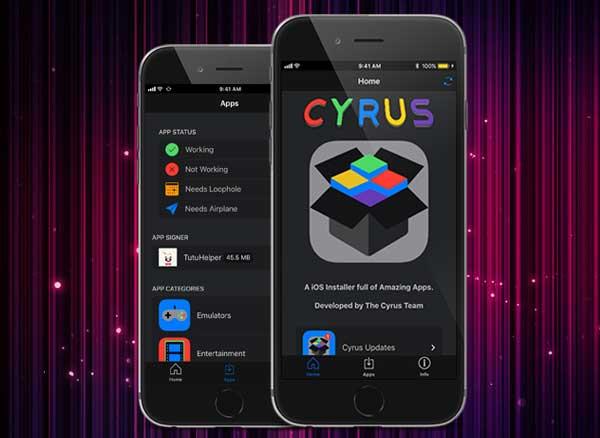 Cyrus Installer iPhone iOS