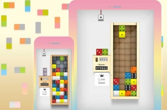 Jeu Domino Drop iPhone iPad