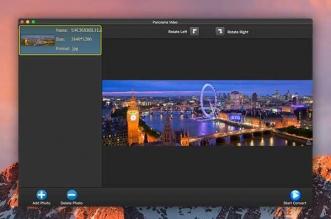 Panorama Video Mac