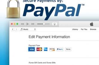 PayPal Apple iTunes Musiques