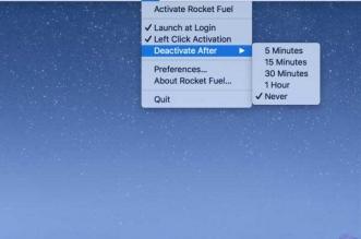 Rocket Fuel Mac macOS