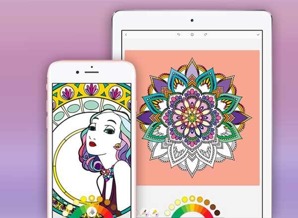 Bloom Iphone Ipad Inspirant Album De Coloriage Pour Adultes Gratuit Maxiapple Com