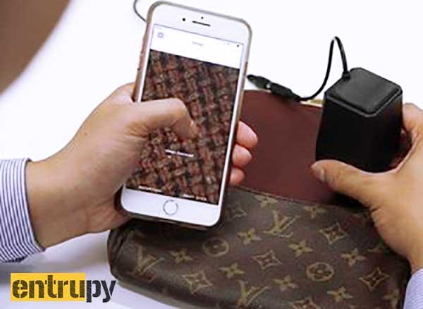 Entrupy Detecteur Contrefacon iPhone