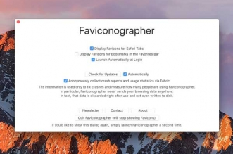 Faviconographer Mac