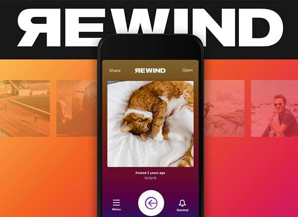rewind rediscover your old photos iphone gratuit 1 - Rewind iPhone : Redécouvrez vos Anciennes Photos Instagram (gratuit)