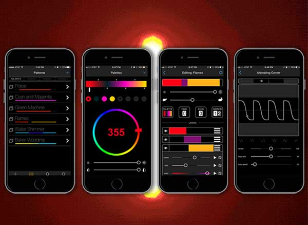 ColorSpike Barre Lumiere Connectee iOS Android