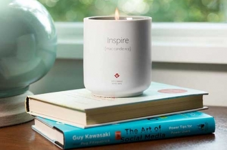 Inspire Mac Candle TwelveSouth Bougie