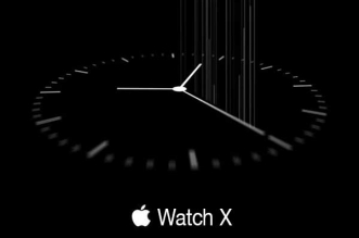 Concept Montre Apple Watch X