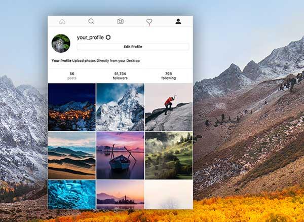 windowed macos mac windows instagram client gratuit 1 - Windowed Mac PC - Client Instagram Multi-Comptes (gratuit)