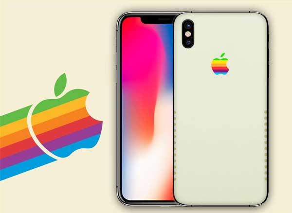 cheaper 2553a c1512 Personnaliser votre iPhone X aux Couleurs de l'Apple 2 (images ...