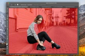 Photoshop CC Detourage Photo